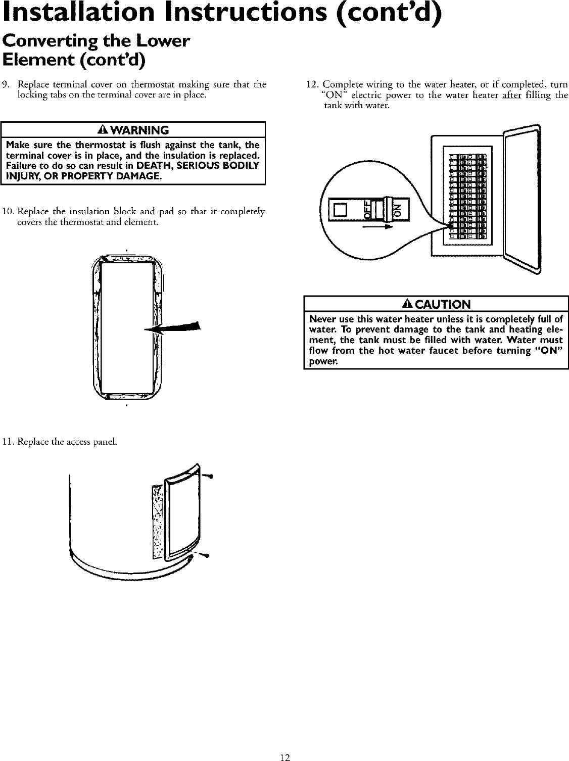 Heater Thermostat Wiring Besides Hot Water Tank Heater Wiring Diagram