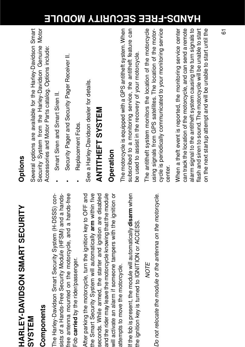 Kenwo ARI0910 MOTORCYCLE ALARM SYSTEM User Manual 99469 10