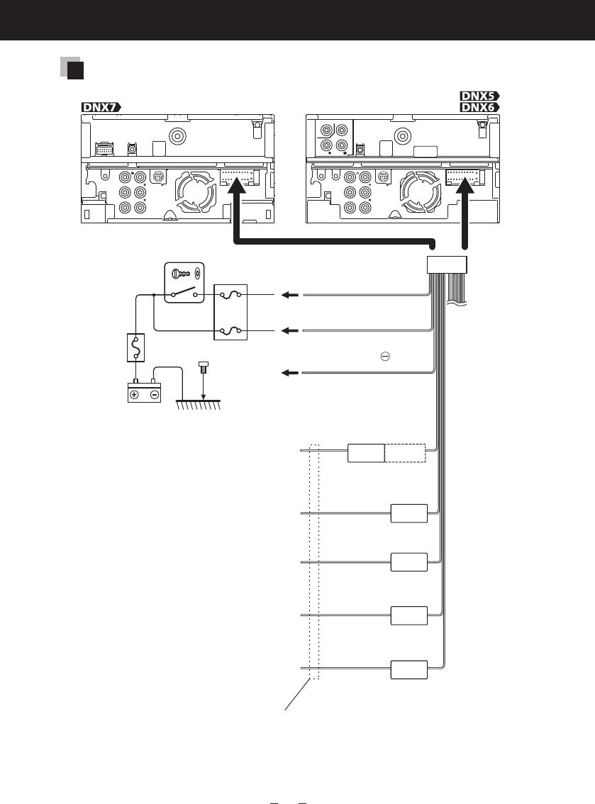 kenwood dnx6990hd wiring diagram wiring diagram  amazon com dnf kenwood wiring harness
