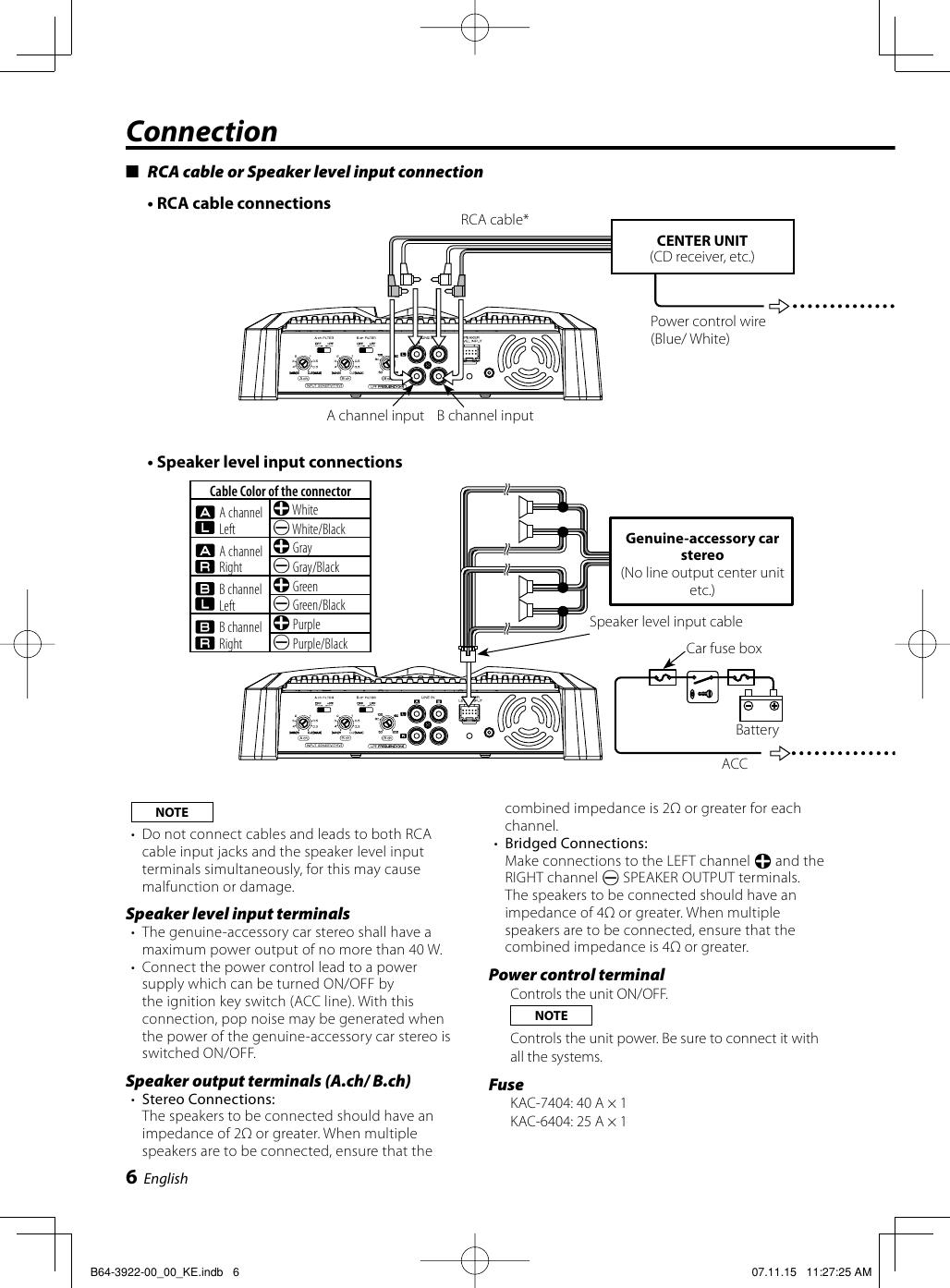 on kenwood kac 6404 amp wiring diagram