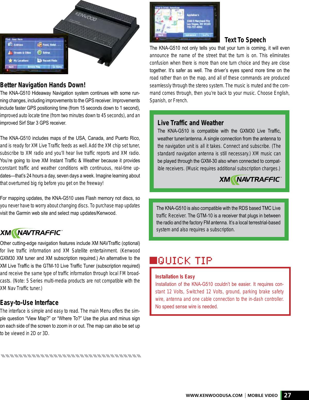 Kenwood Amped Xr S17P Users Manual