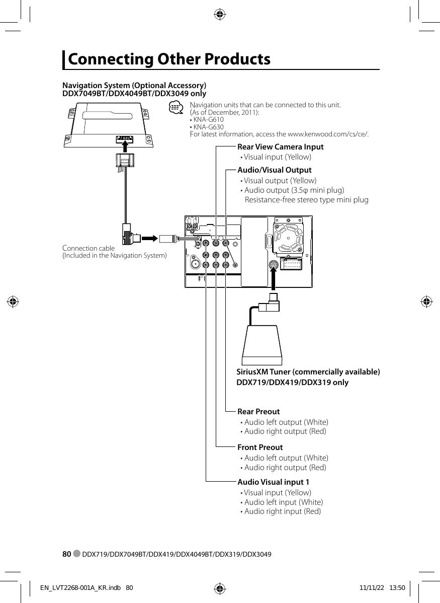 Kenwood Ddx419 Wiring Diagram | Wiring Liry on