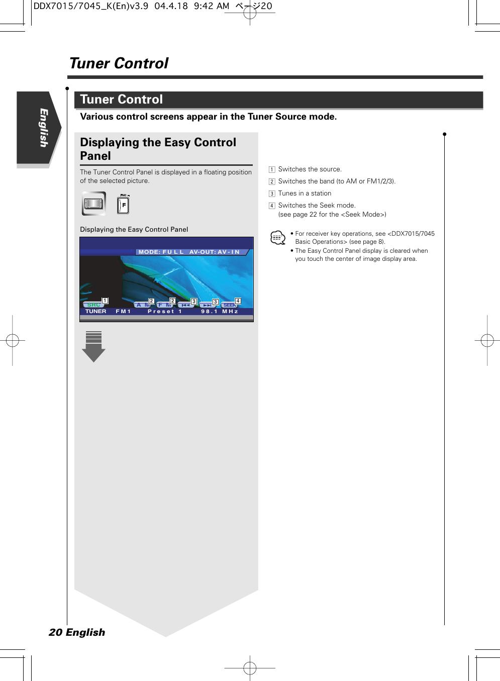Kenwood Excelon Ddx7015 Users Manual DDX7015_7045 (Revised) on