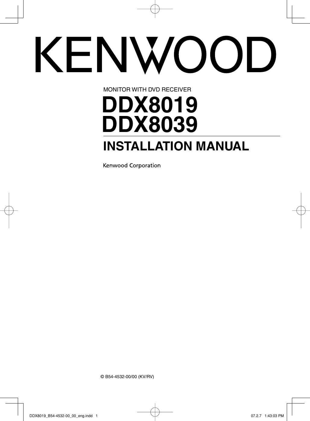 kenwood excelon ddx8019 users manual ddx8019_b54 4532 00_00_engpage 1 of 12 kenwood kenwood excelon ddx8019 users manual