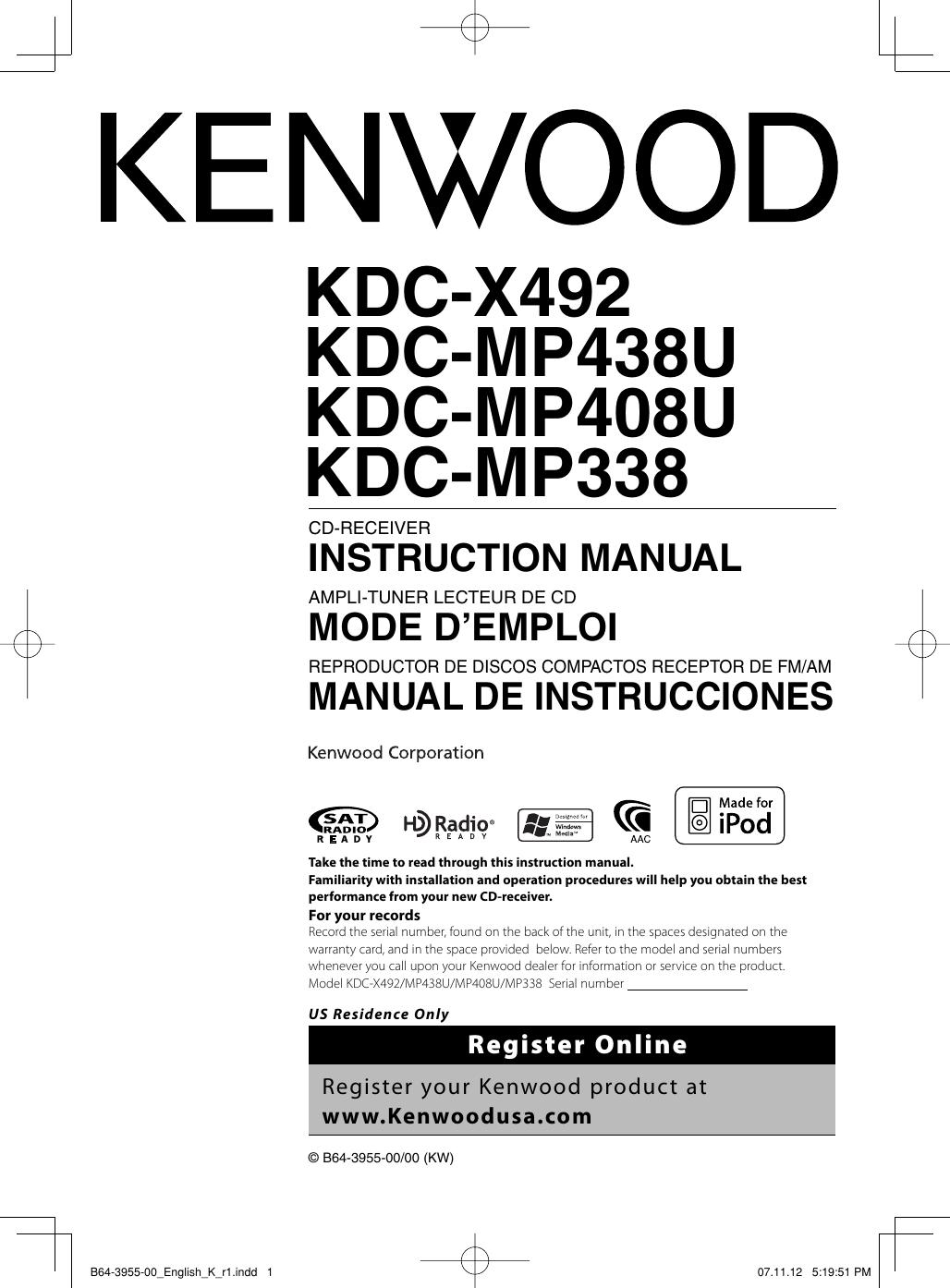 wiring diagram kenwood kdc x492