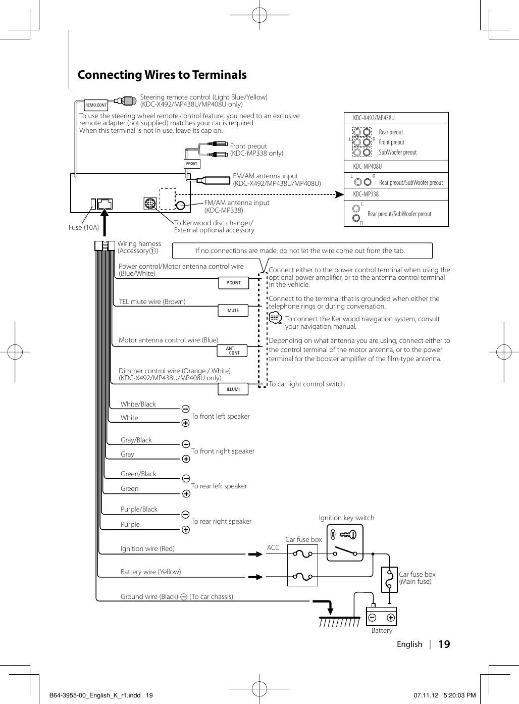 Kenwood Kdc Mp245 Wiring Diagram from usermanual.wiki