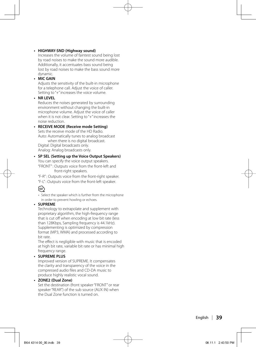 Kenwood Excelon Kdc X493 Users Manual B64 4314 00_00