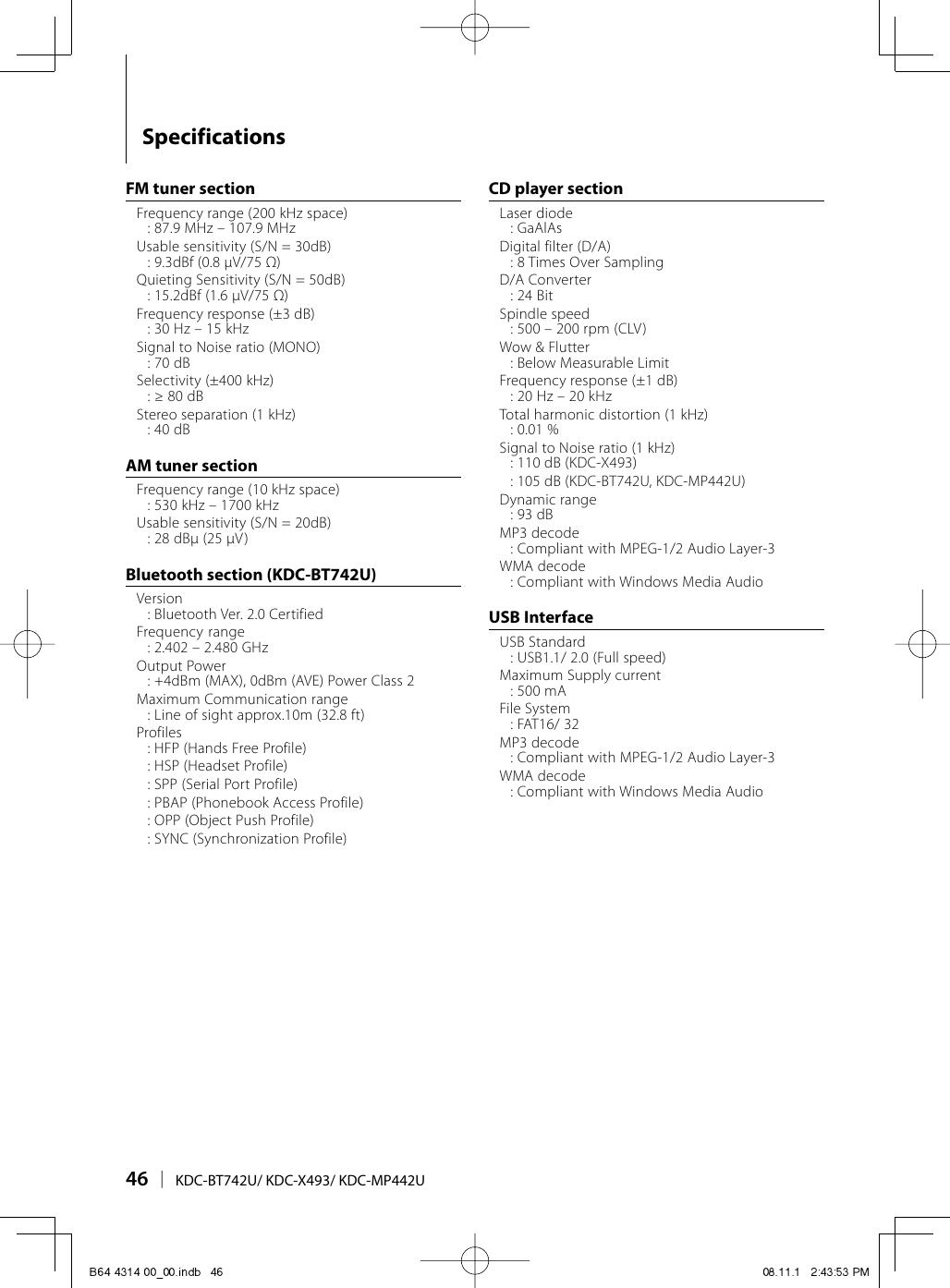 Manual Kenwood Kdc On Kenwood Car Stereo Wiring Diagram Kdc 128