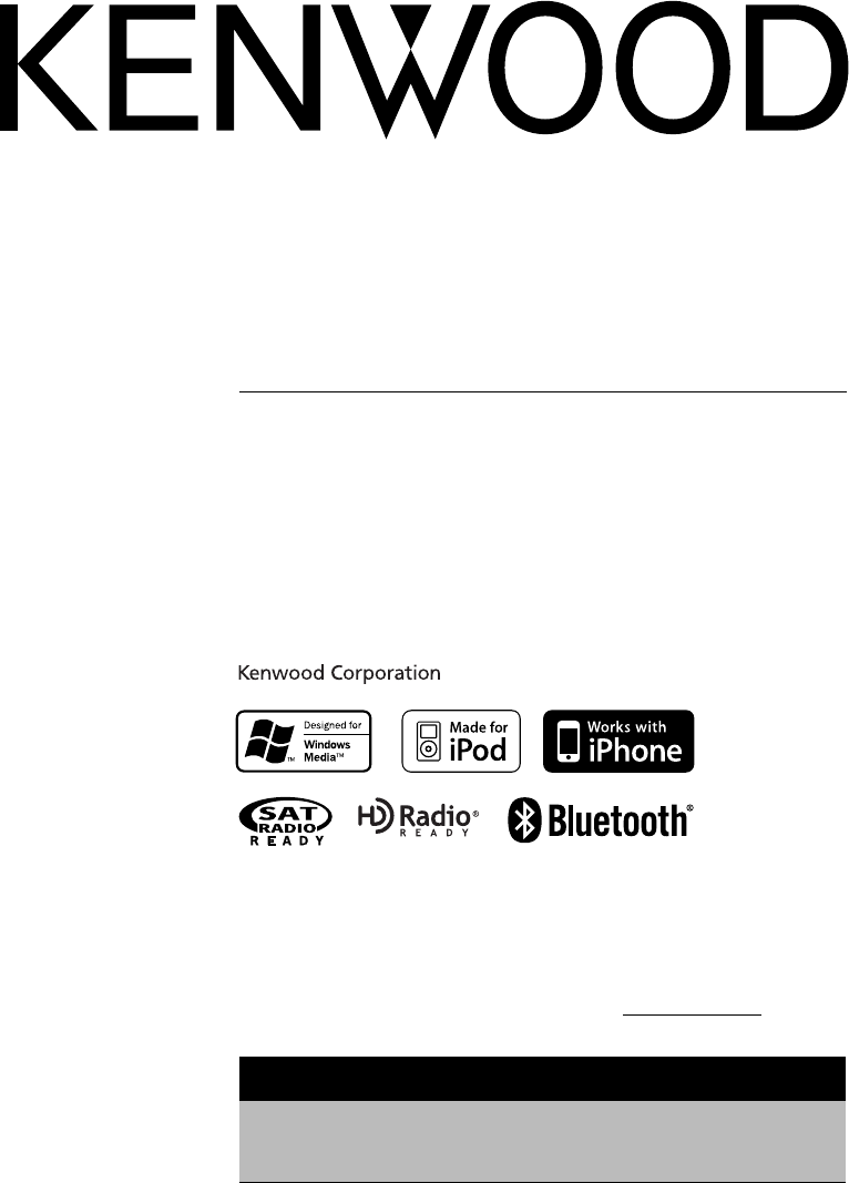 [ZSVE_7041]  Kenwood Excelon Kdc X493 Users Manual B64 4314 00_00.indb | Kenwood Kdc Bt742u Wiring Diagram |  | UserManual.wiki