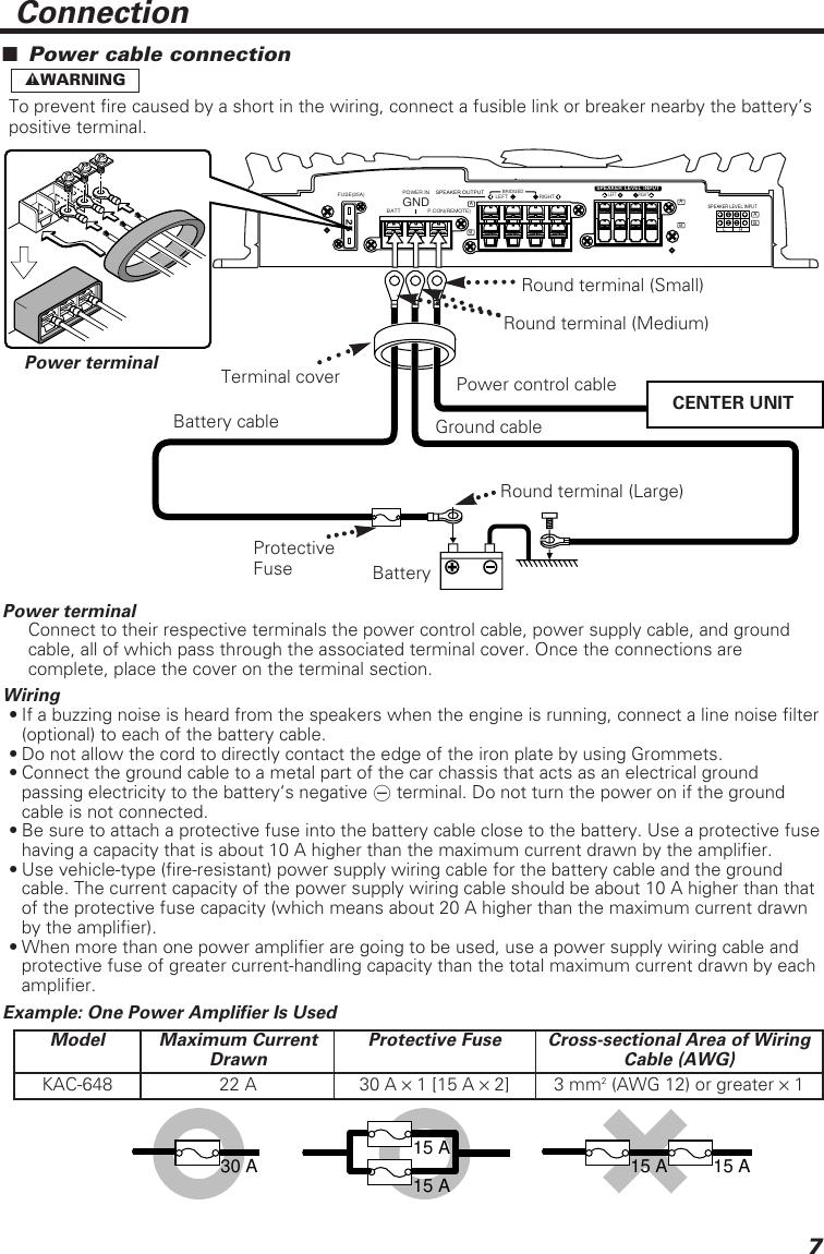 Wiring Diagram Kenwood Amplifier Kac 648. . Wiring Diagram on