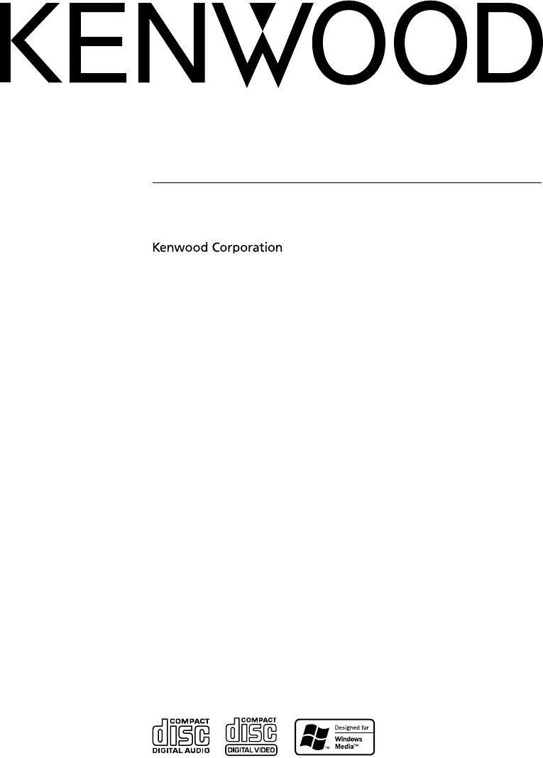 Kenwood Kdc Mp533V Users Manual B64 3476 00_00_English Indd
