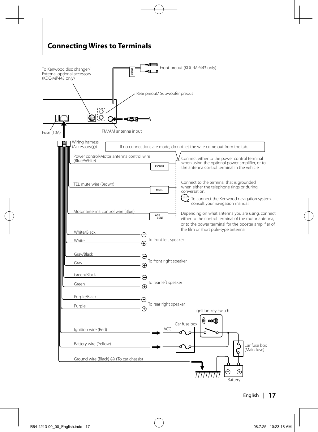 Kenwood Stereo Wiring Diagram from usermanual.wiki