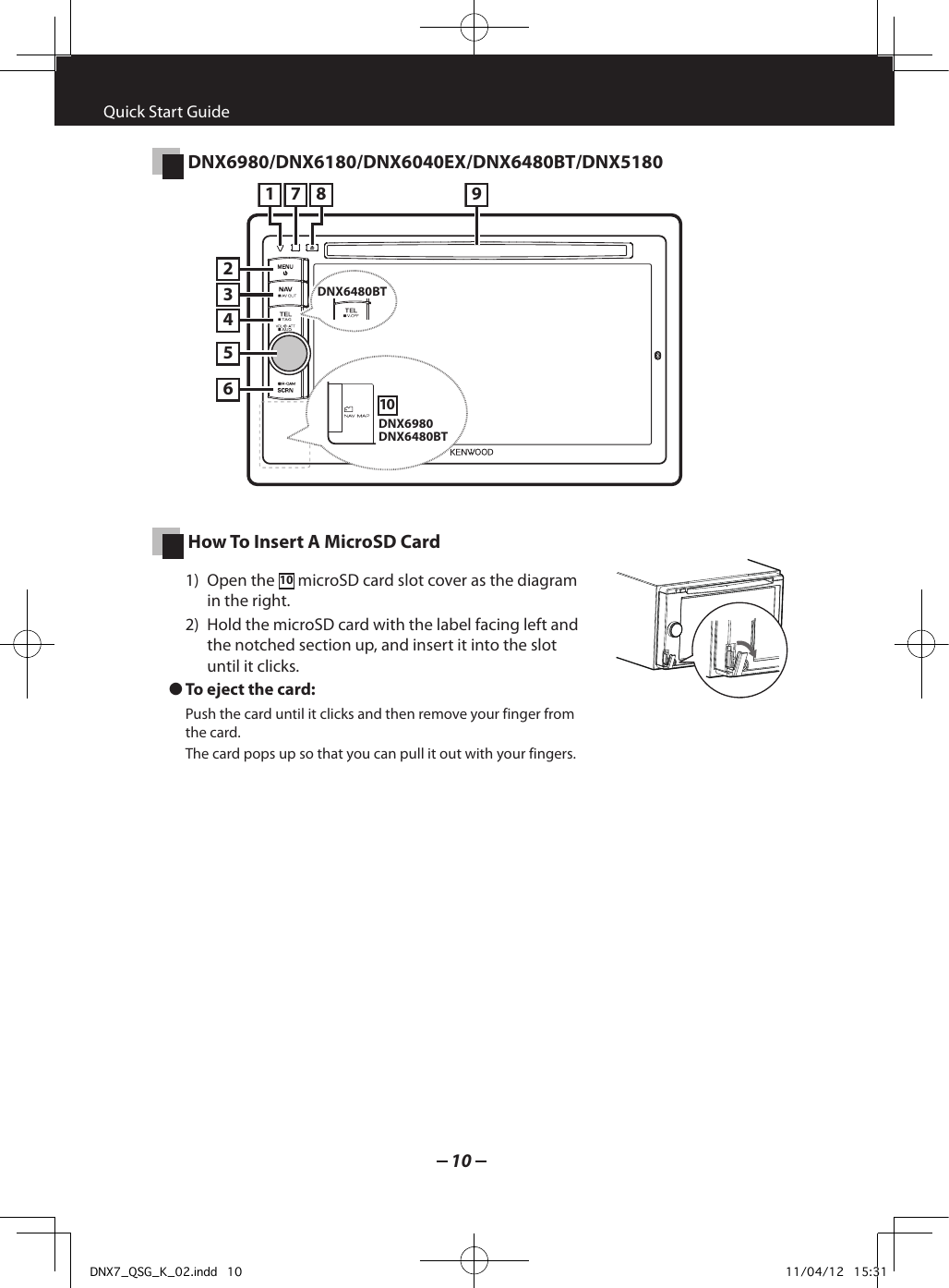 Kenwood Gps Receiver Dnx7180 Users Manual on