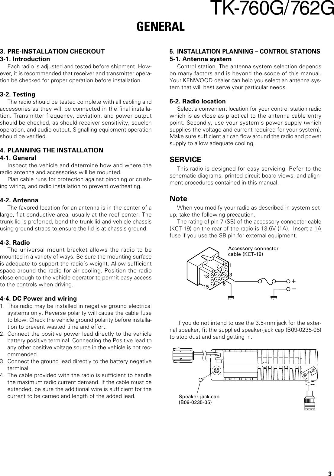 Kenwood Marine Radio 762G Users Manual 1~10