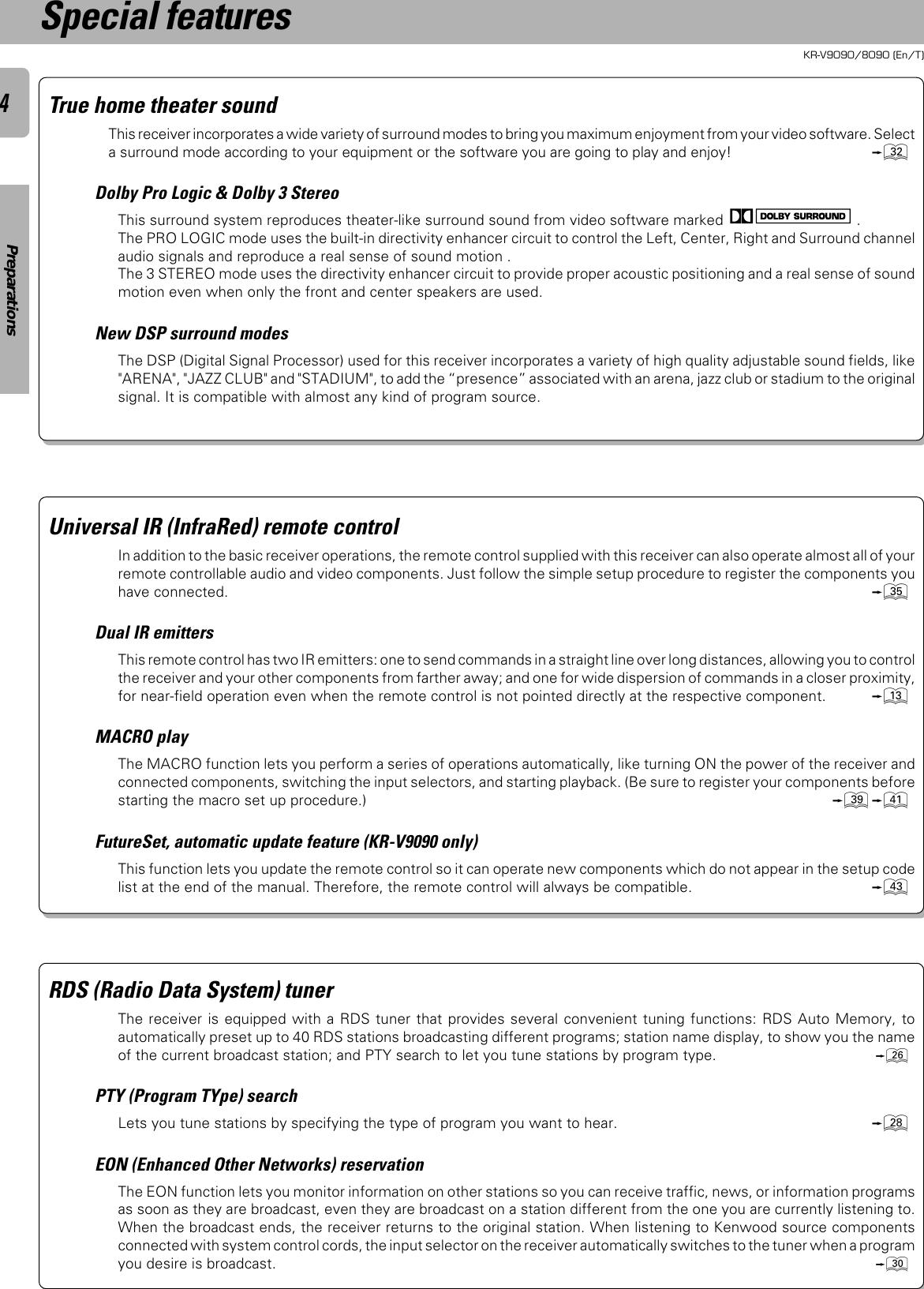 Kenwood Kr V8090 Users Manual Sans Titre 1