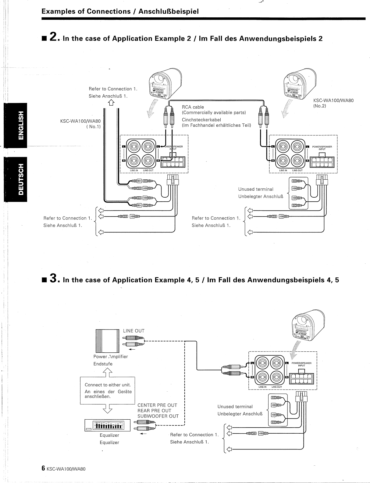 Kenwood Ksc Wa100 Wiring Diagram - Wiring Diagram on