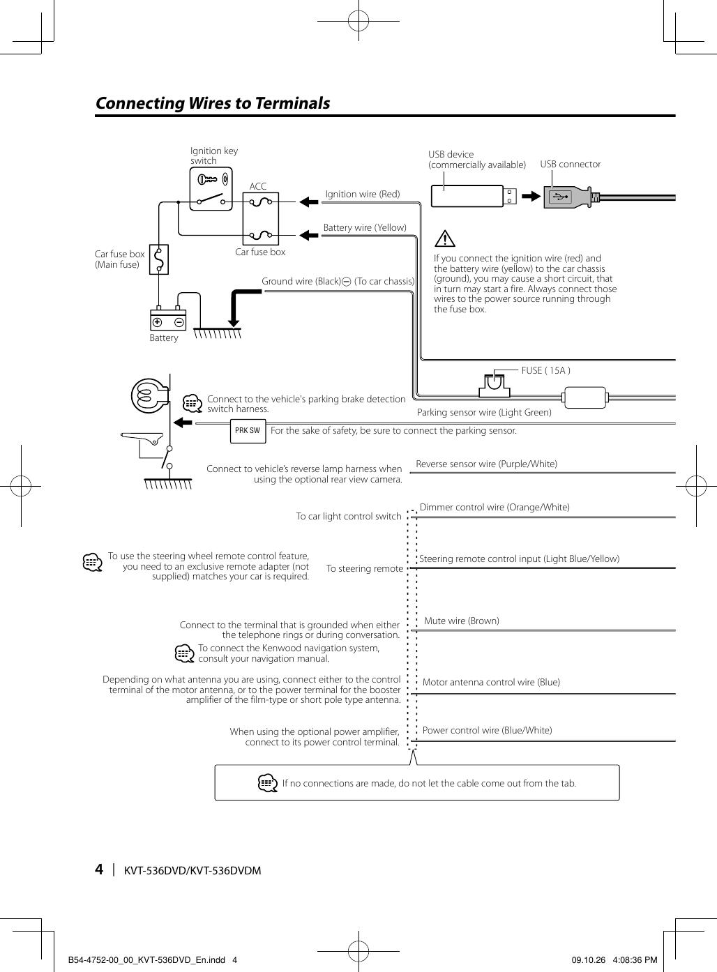 Kenwood Kvt 536dvd Users Manual B54 4752 00 En Car Fuse Box Wiki Page 4 Of 12