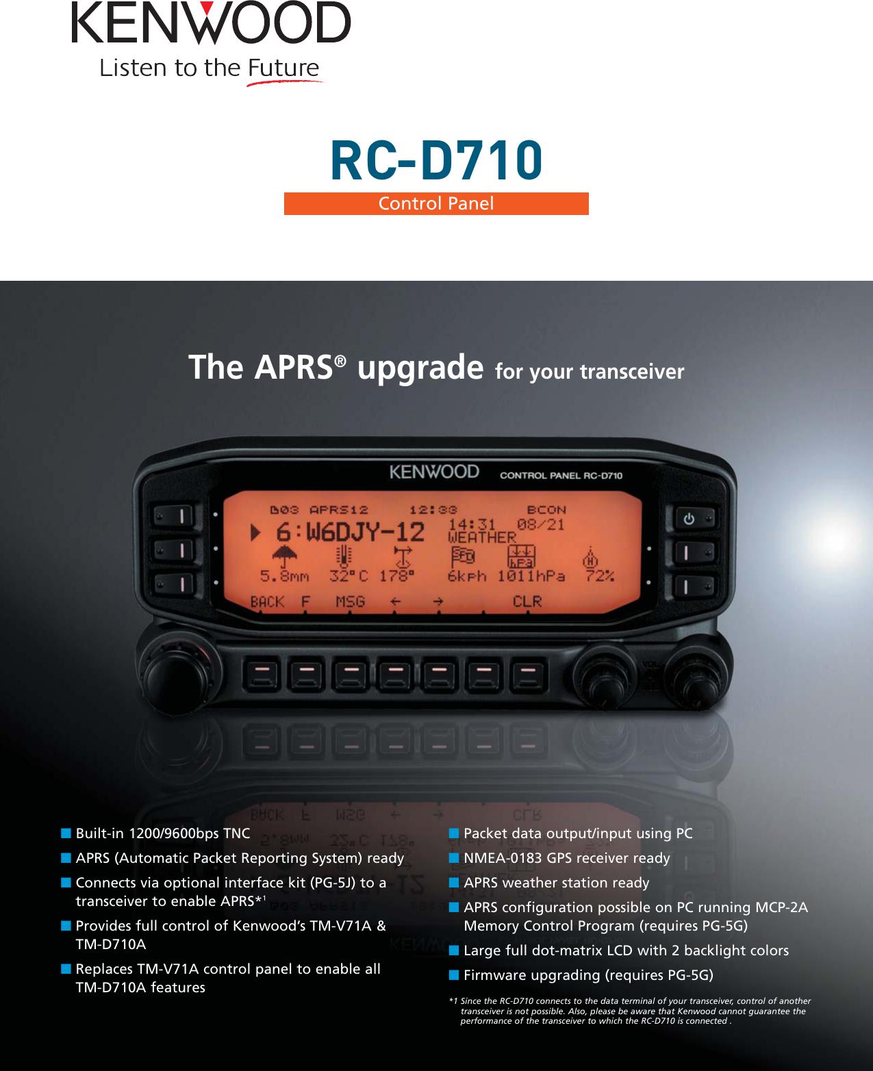 Kenwood RC D710 Rc_d710_k User Manual To The A4fee24b b08b 4880 8bde