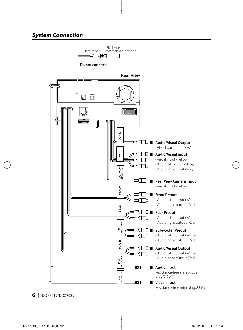 Kenwood Ddx7019 Wiring Diagram Explained Diagrams Dnx7140 B54 4522 00 3 If Not Then Manualsddx7019 Install