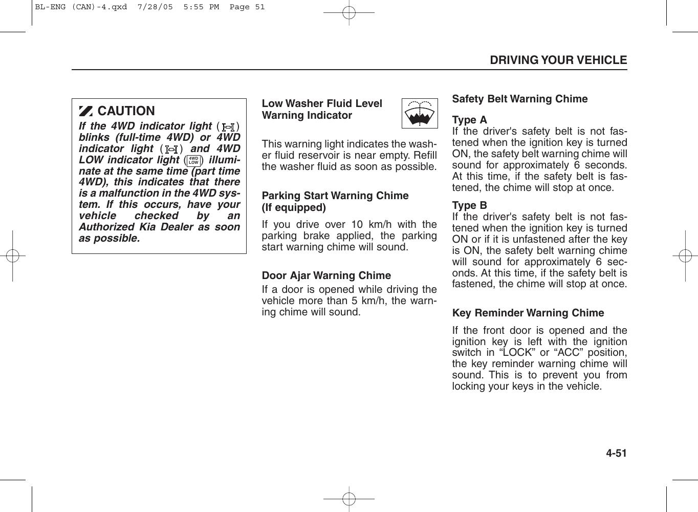 Kia 2006 Sorento Owners Manual EN