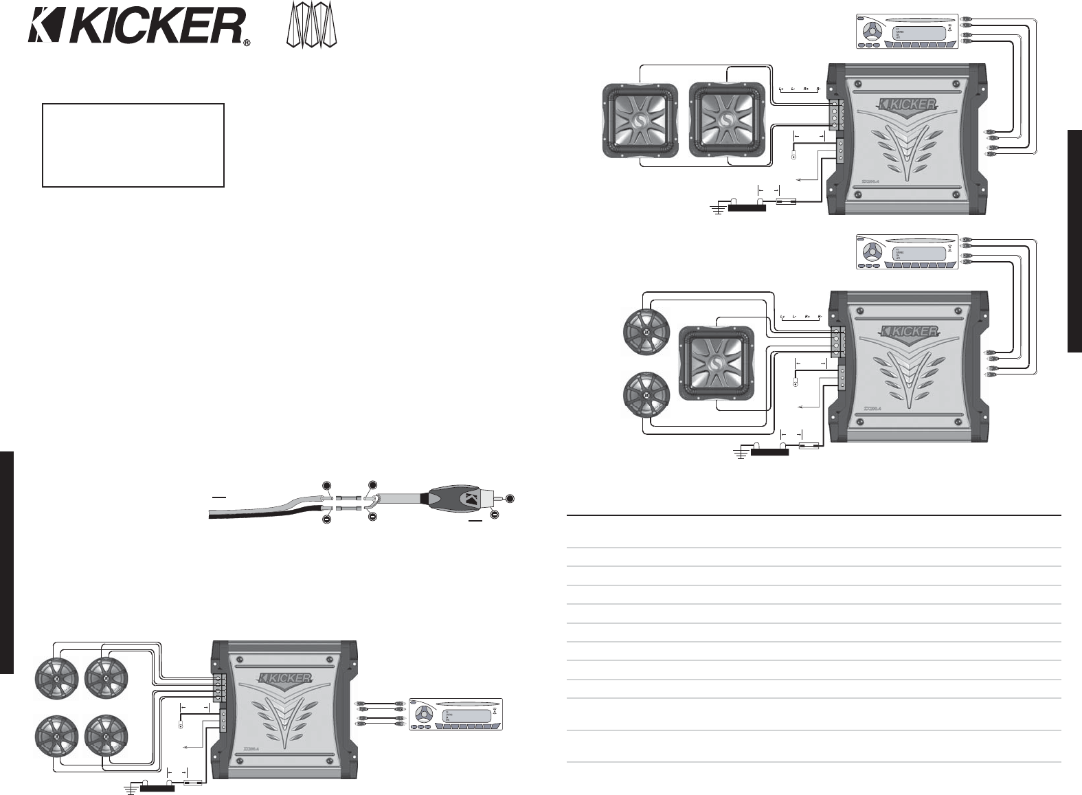 Kicker Solo Baric L7 Wiring Diagram from usermanual.wiki