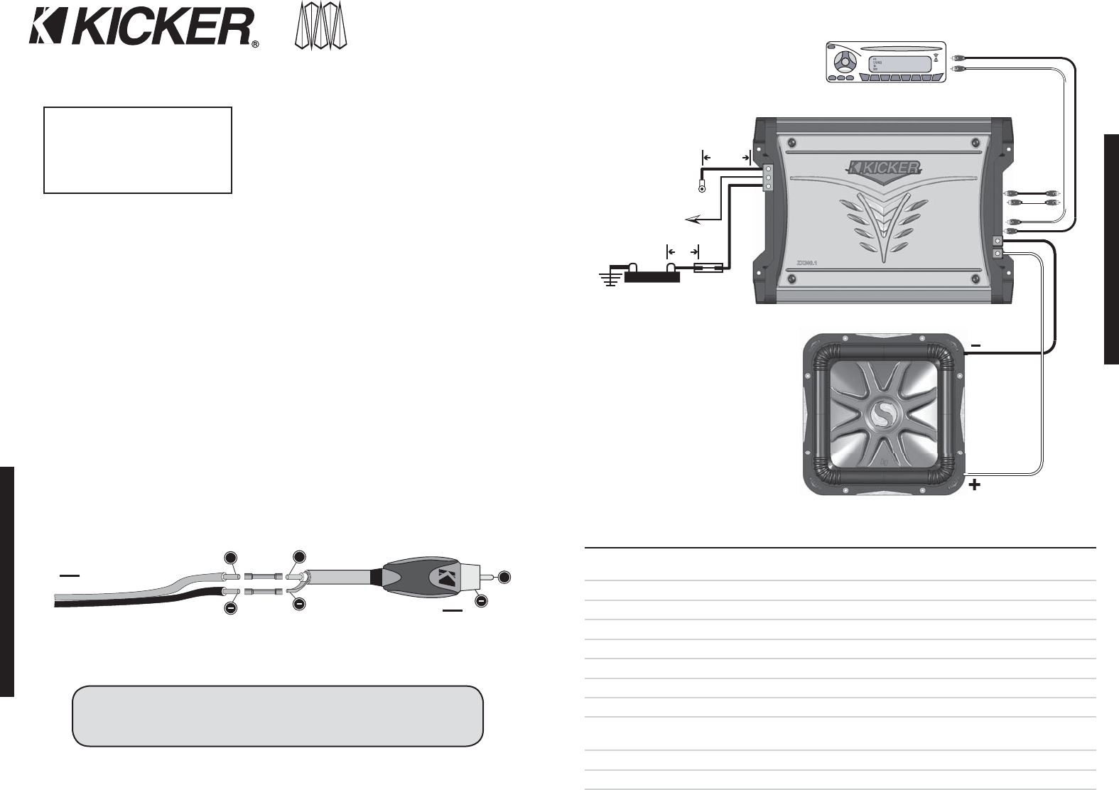 kicker 2008 zx400 1 500 and 750 owners manual zx 400 f01 Kicker Car Amps