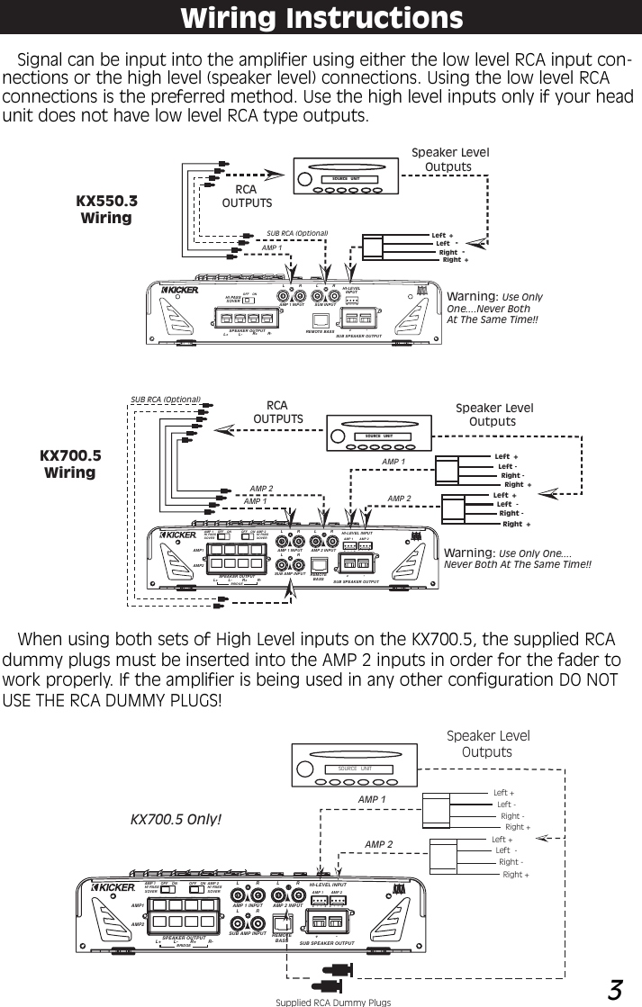 B590F28 Wiring Diagram 5 Channel 13 Kicker | Wiring ResourcesWiring Resources