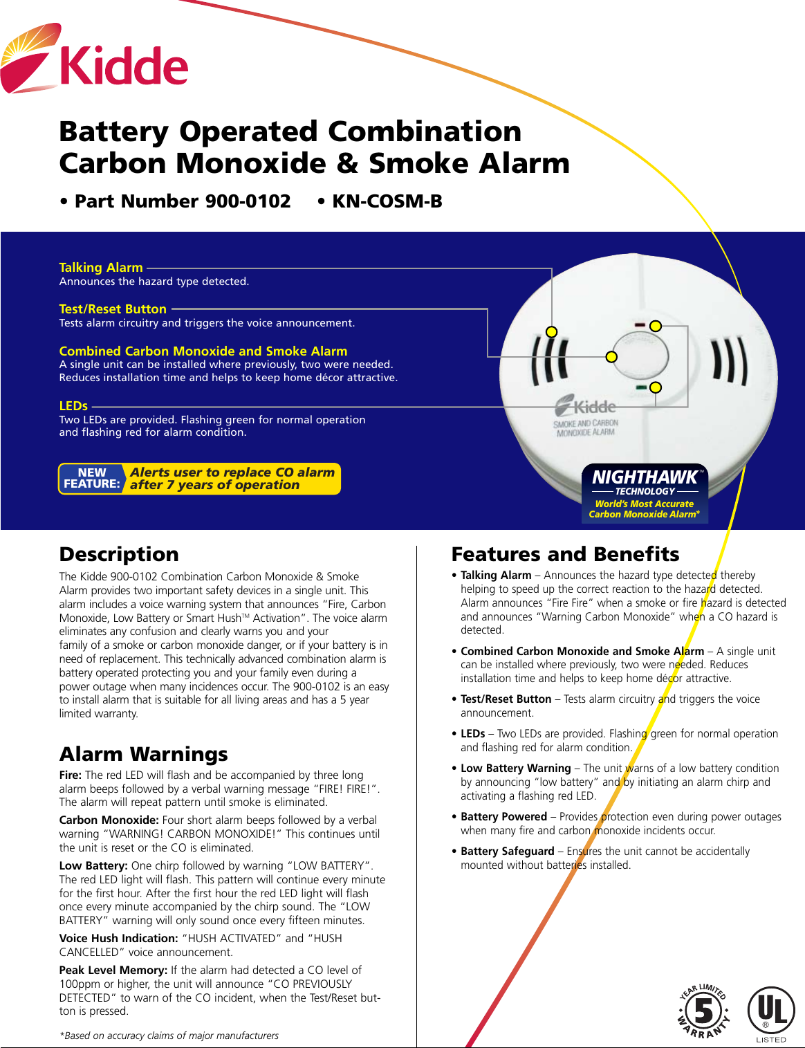 Kidde KN COSM B 900 0102 Sheet User Manual To The 497d1e36 c709 4b42 a47d  0d6c53cfd0be