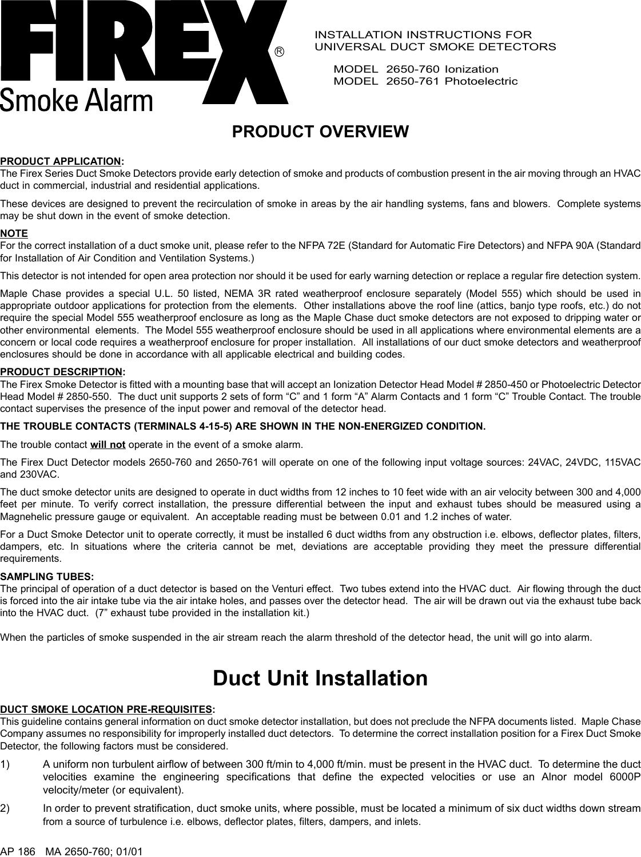 Kidde Firex 2650 760 761 English Owner S Manual Ap 186 Good Job 21585 Americium Smoke Detector Circuit Board