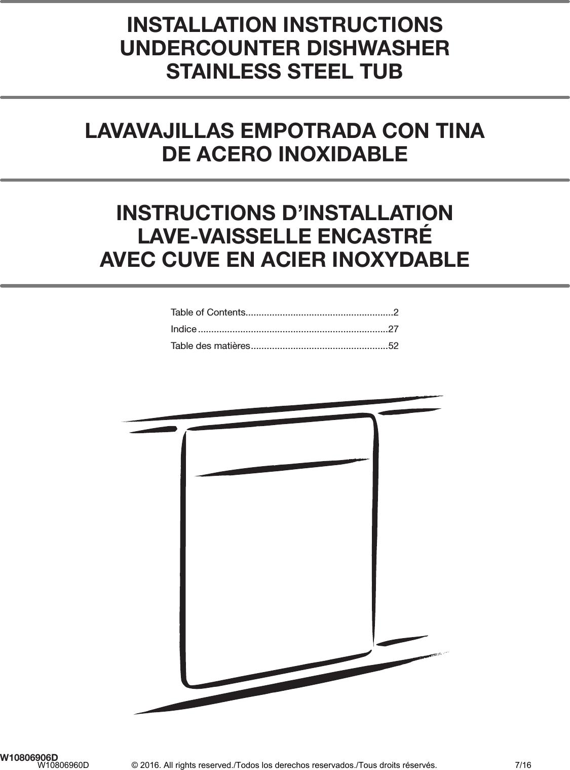 Kitchenaid Dishwasher Kdte104ess Manual Manual Guide