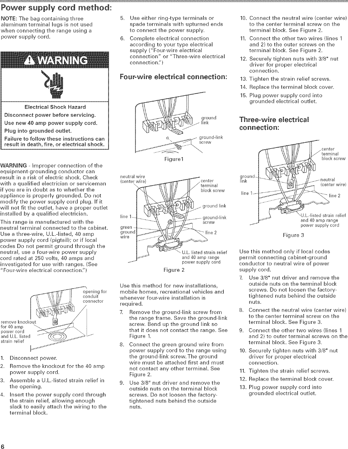 Kitchenaid Kesc308lss0 User Manual In Range Electric Manuals And Wiring Outlet Page 6 Of 12