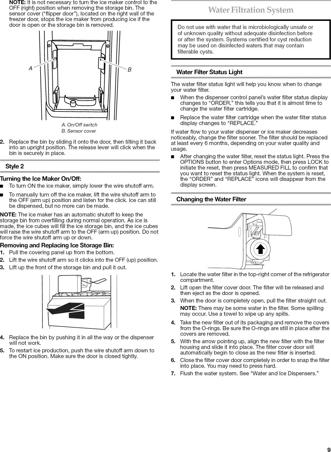Kitchenaid KSC23C8EYY02 1112332L User Manual REFRIGERATOR