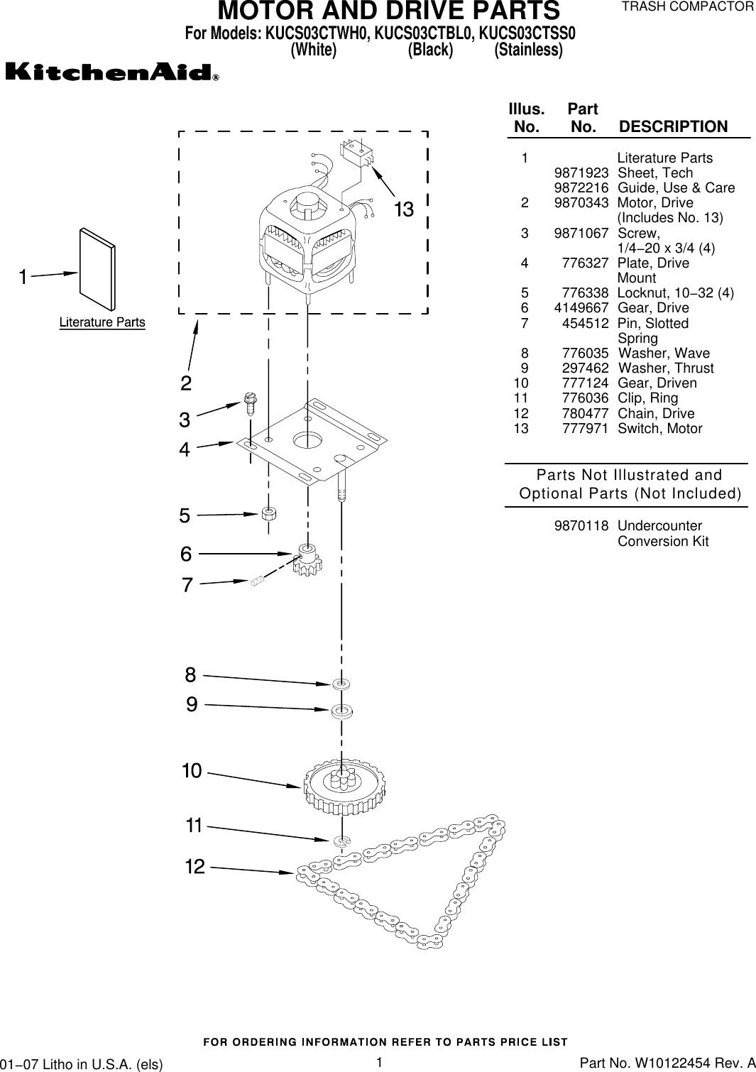 Kitchenaid Washer Motor Diagram Bosch Lg Amana Wire Kucs03ctbl0 Users Manual On Wiring Schematic Dishwasher Pump