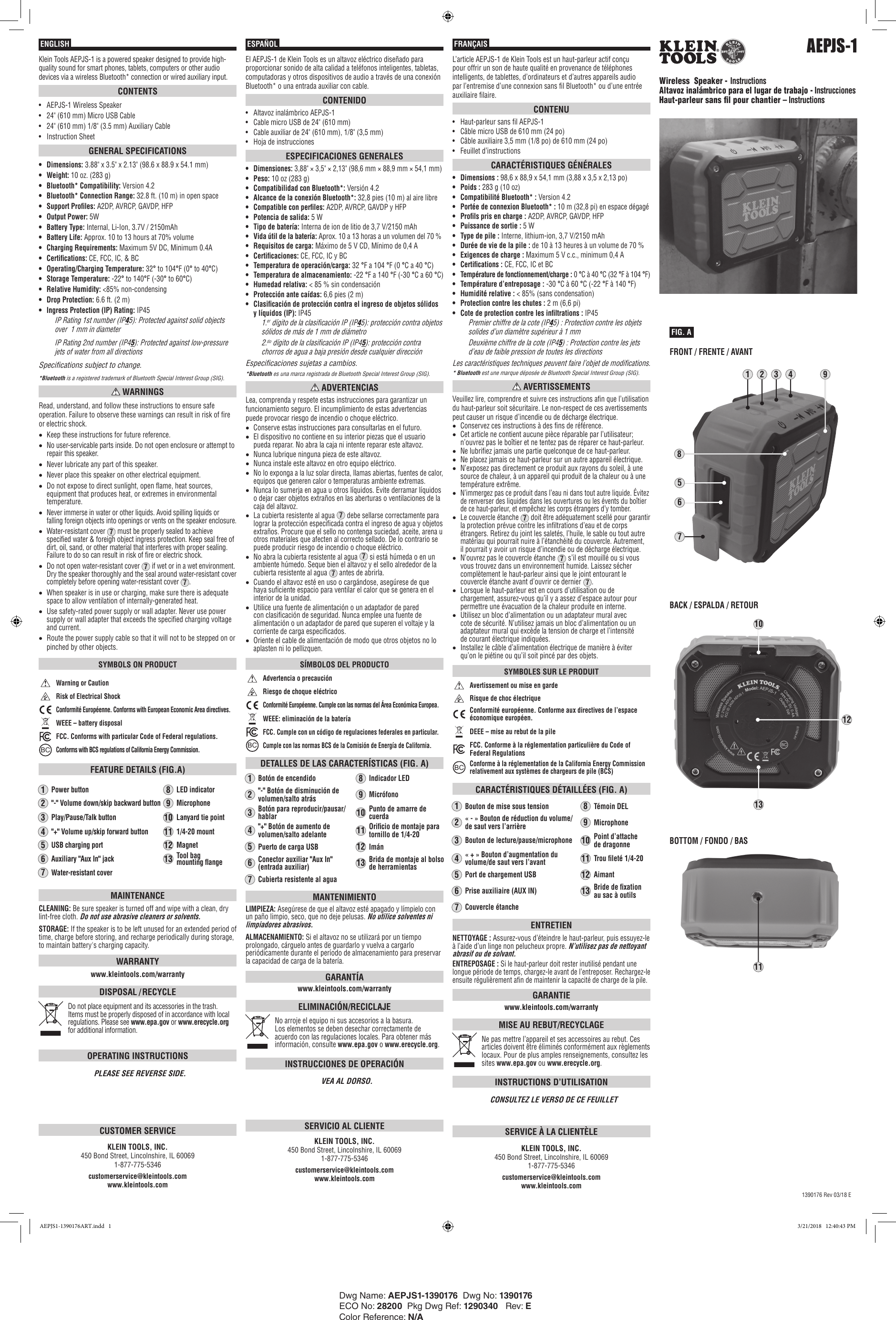 Planet Audio Subwoofer Air Space Requirements Manual Guide