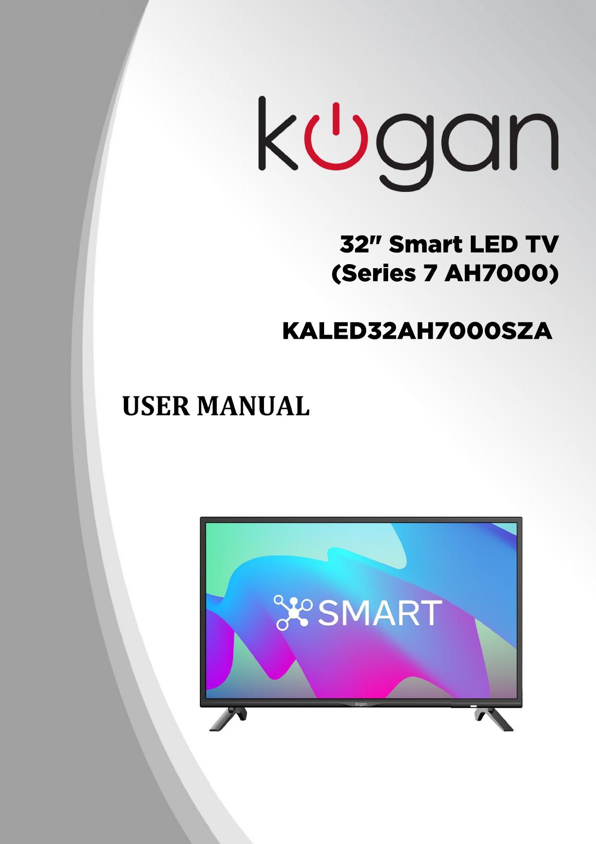 85b88695250 KALED32AH7000SZA Kogan 32 Smart LED TV (Series 7 AH7000) A
