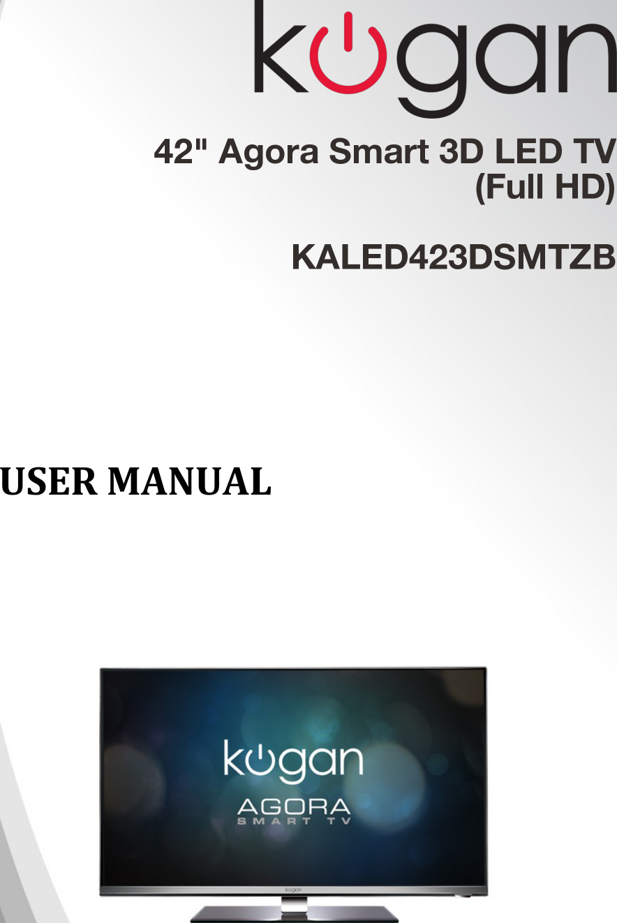 Kaled423dsmtzb 42 agora smart 3d led tv full hd user manual a asfbconference2016 Image collections