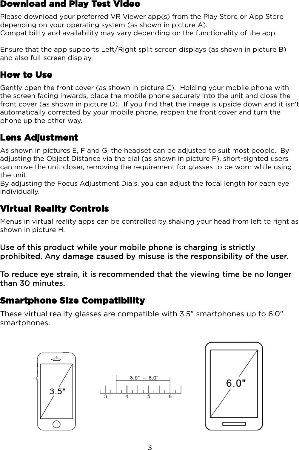 KAVRHEADSETA Virtual Reality Headset For Smartphones User