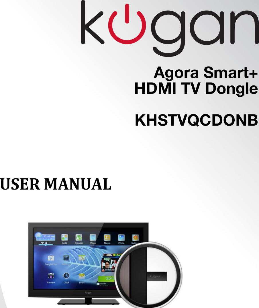 khstvqcdonb agora smart hdmi tv dongle user manual b rh usermanual wiki User Manual PDF User Manual PDF