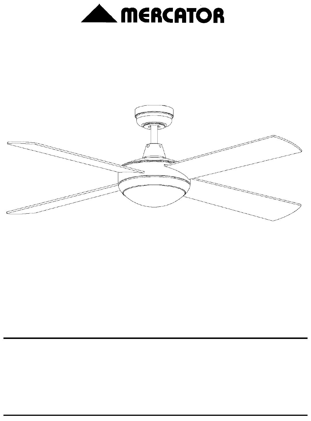 Mercator Ceiling Fan Wiring Diagram from usermanual.wiki