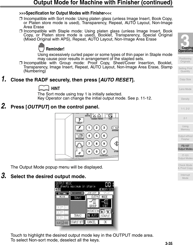 Konica Minolta 7130 Users Manual 7135KBTv1