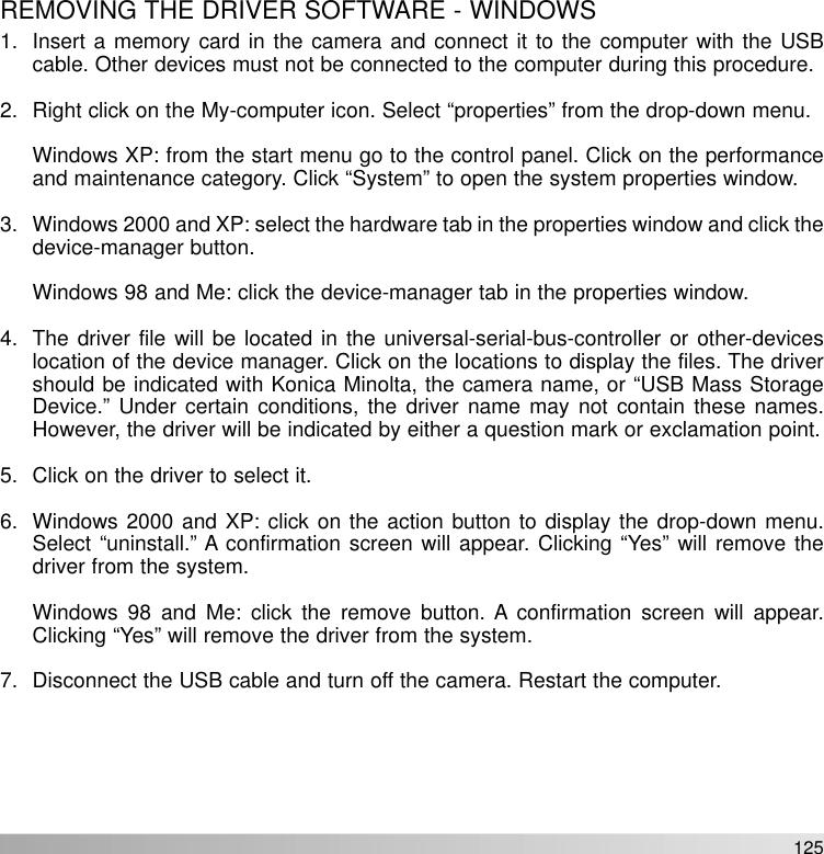 Konica Minolta Maxxum 5D Instruction Manual Dynax/Maxxum