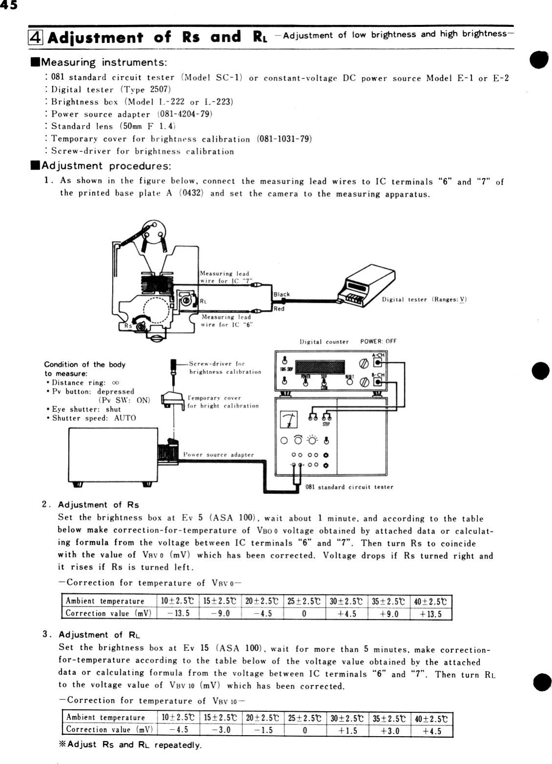 Konica Xe Service Manual