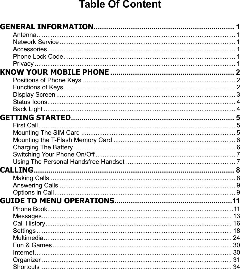 Konka Telecommunications Technology KK5061 GSM DUAL BAND