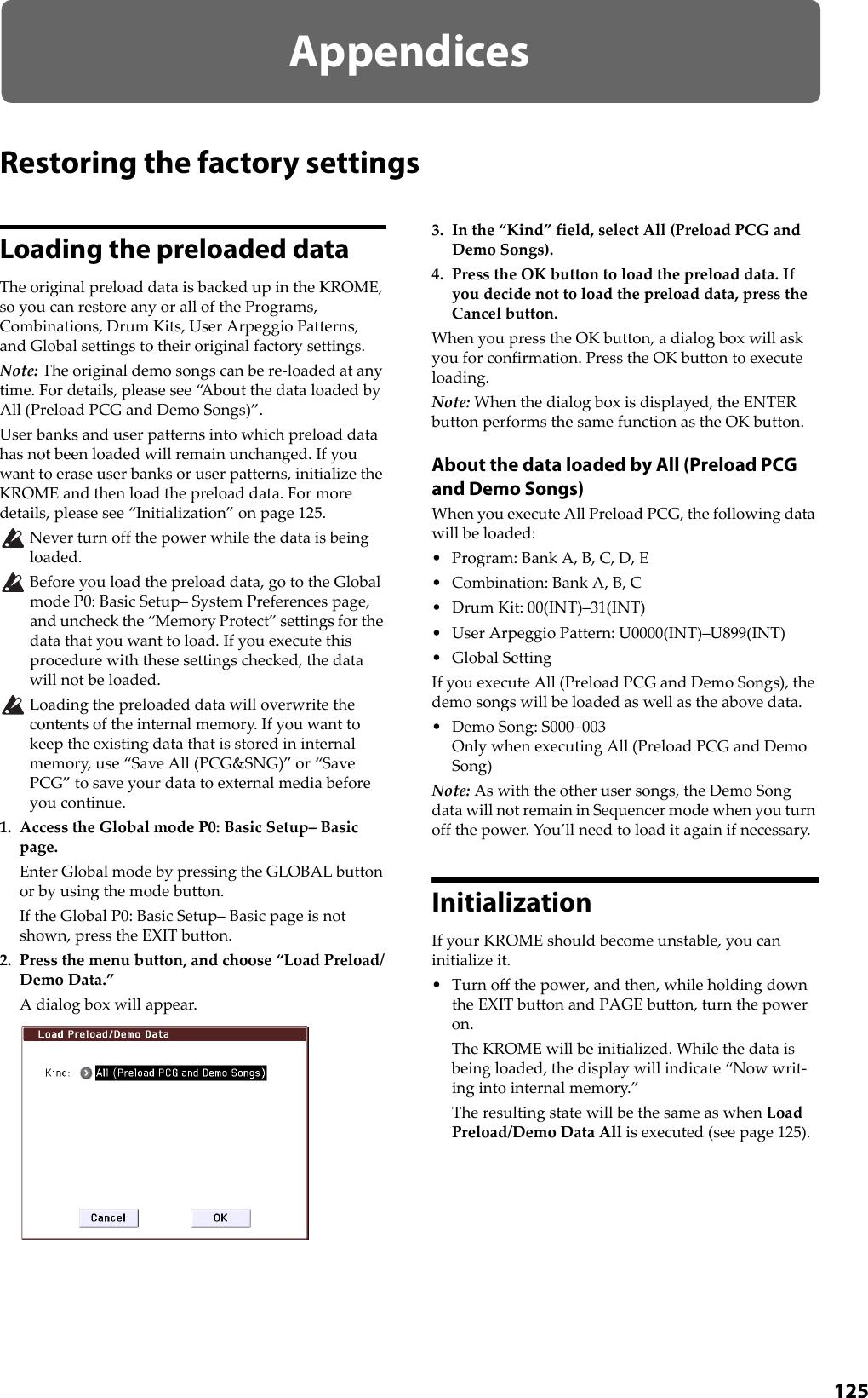 Korg Krome Music Workstasion 61Key Users Manual Operation Guide