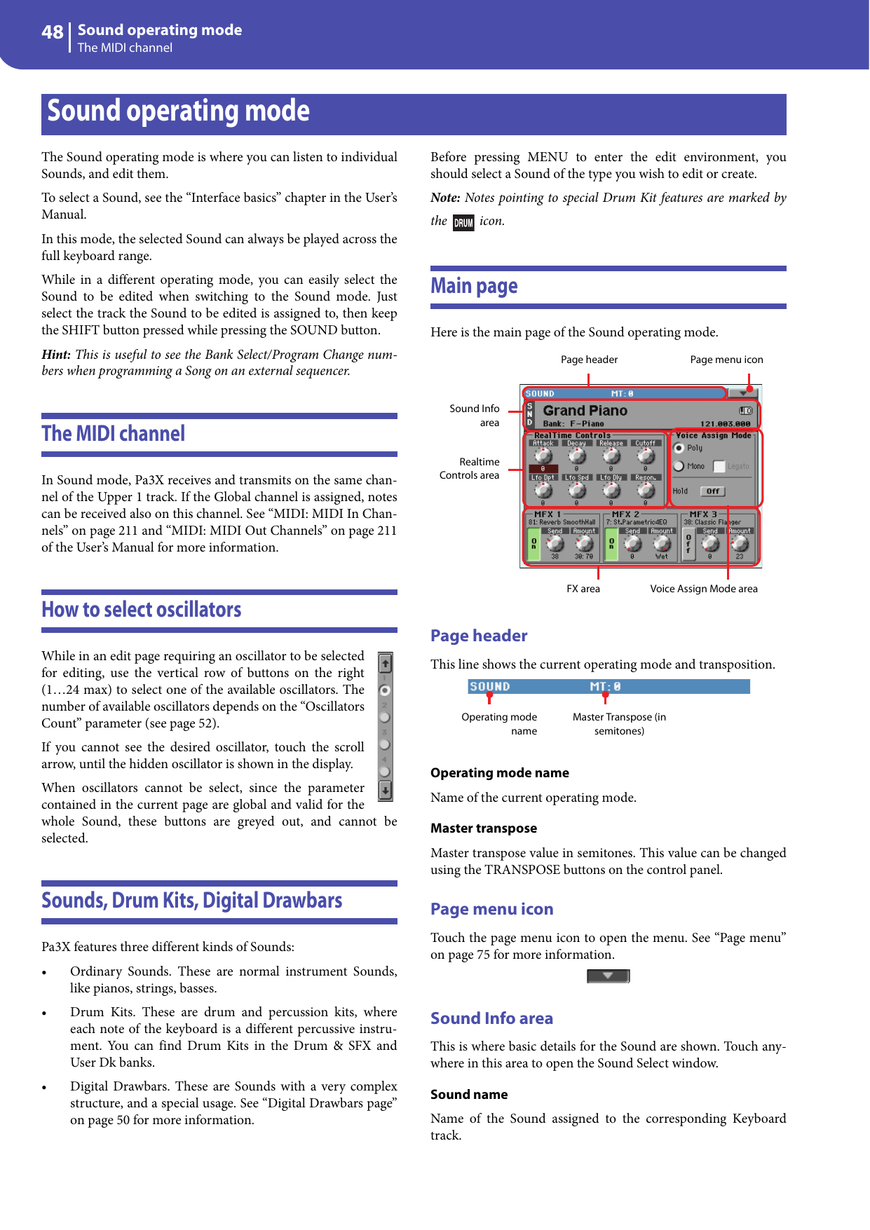 Korg Pa3 Users Manual Pa3X 1.0 Advanced Edit (E1)