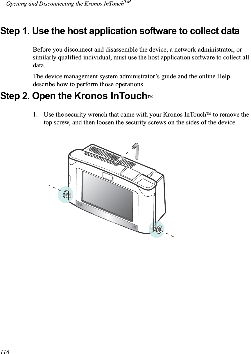 Kronos 8609K005 RFID READER HID 13 56 MHz