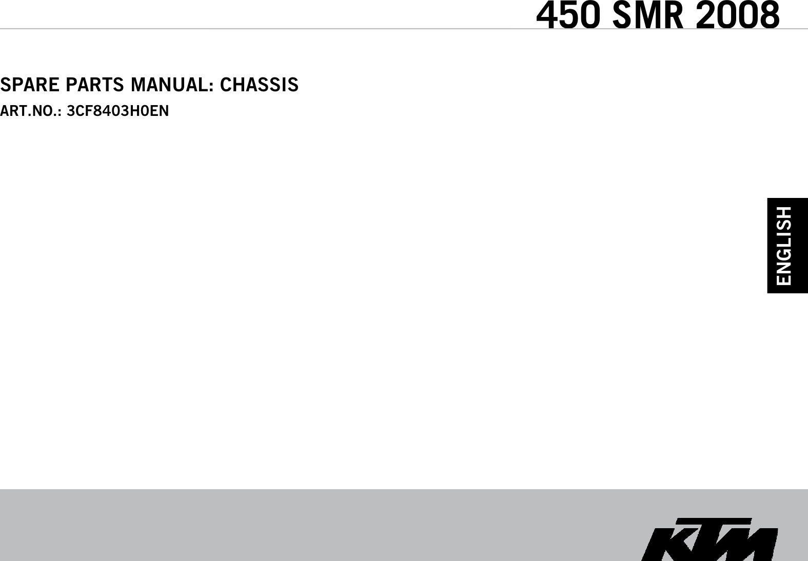 Ktm 3cf8403h0en Users Manual Wire Schematic 450 Smr