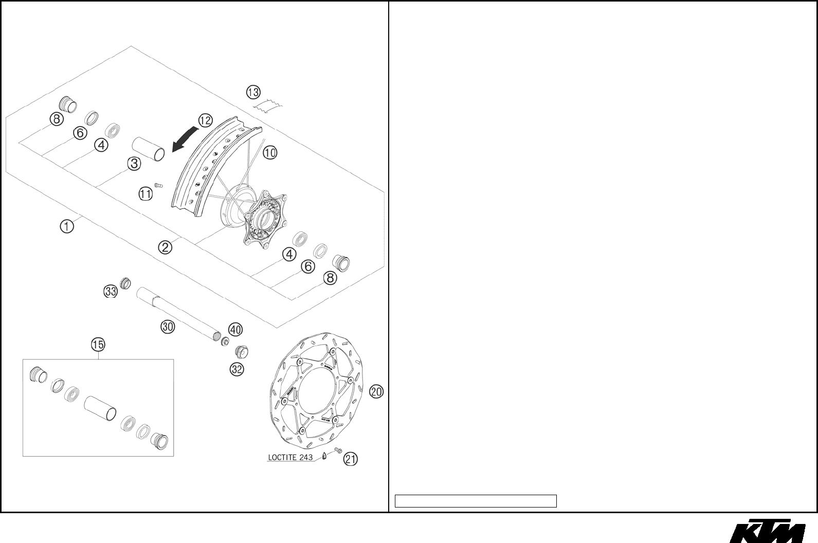 Ktm 3cf8403h0en Users Manual Wire Schematic 450 Smr 2008
