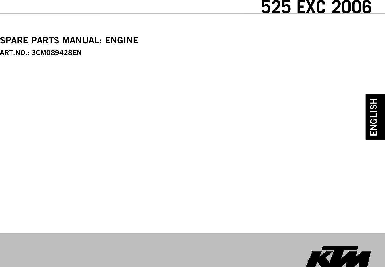 Ktm 525 Exc 2006 Users Manual 3cm089428en Motor 4t 2006xml Fuse Box
