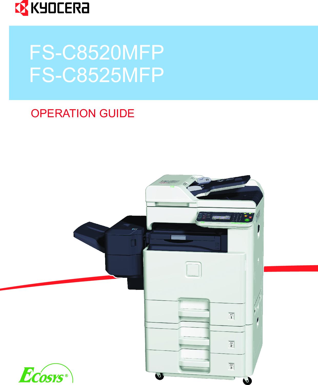 Kyocera FS C8520MFP User Manual To The F1cbf051 d5f4 4cdd